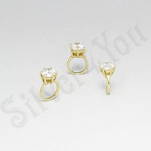 Pandantiv argint aurit - PF8066