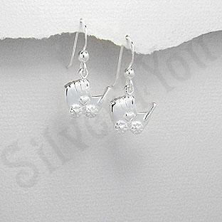 Cercei argint carucior - PF4035