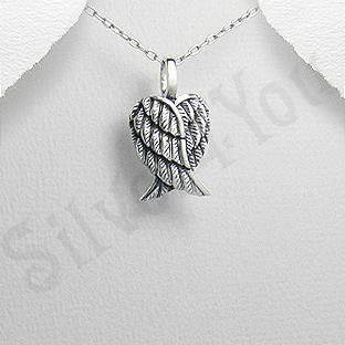 Pandantiv argint aripi de inger - PK1945