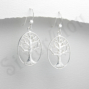 Cercei argint copacul vietii - PK1402