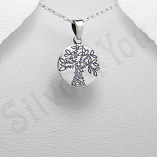 Pandantiv argint copacul iubirii - PK1341