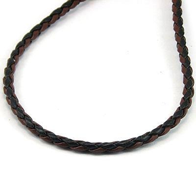 Lant piele - maro cu negru - LT1A