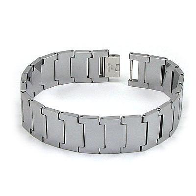 Bratara tungsten carbide - 21.5 cm - NOU! - BS522