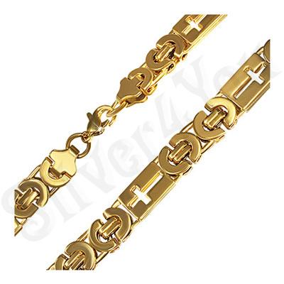 Lant inox  auriu - Bestseller/55 cm - PK2171