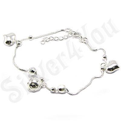 Bratara argint 925 cu inimioare - AI104