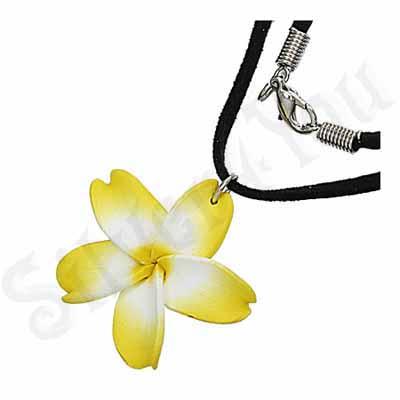 Colier floare plumeria - PF890