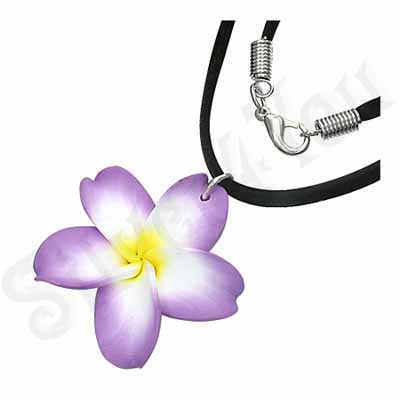 Colier floare plumeria - PF892