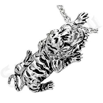Pandant inox tigru gri - BF1261