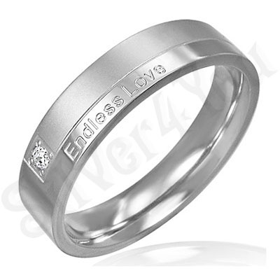 "Inel inox ""Endless Love"" - BF3006"