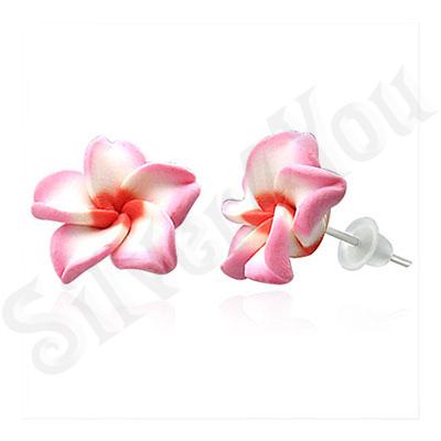 Cercei floare plumeria - BF6212