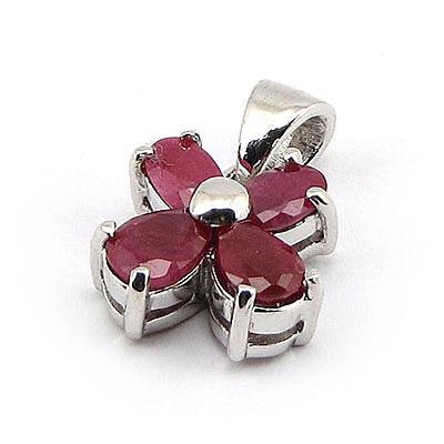 Pandantiv argint cu rubin - BF5019