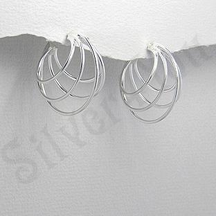 Cercei argint verigi - AR193