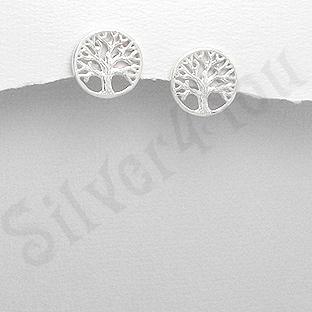 Cercei argint copacul vietii - AR179