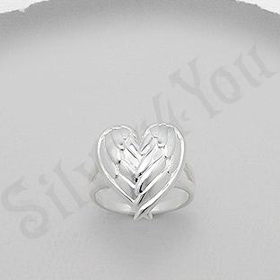 Inel argint aripi de inger - AS158