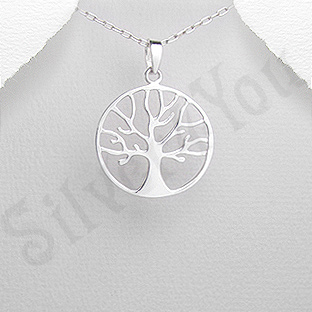 """Pandantiv argint """"copacul vietii"""" - AS160"""