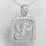 Pandantiv argint litera - PF4262
