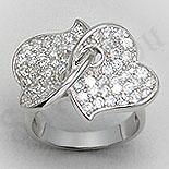 Inel argint cu zirconii - PF4101