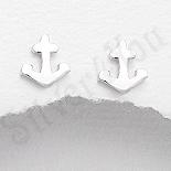 Cercei argint mici ancora - PK2465
