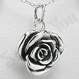 Pandantiv argint trandafir - PK1967