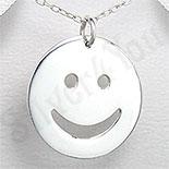 "Pandantiv argint ""smiley face"" - PK1237"