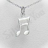 Pandantiv argint nota muzicala - PF5534