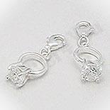Pandantiv argint inel - PF8067