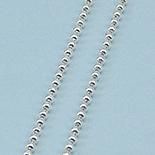 Lant argint model bilute 50 cm/2 mm - LT3A