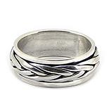 Inel barbat din argint model antistres - IO235