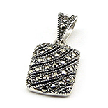 Pandantiv argint cu marcasit - PK57