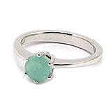 Inel argint cu smaralde - IF273