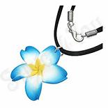 Colier floare plumeria - PF893