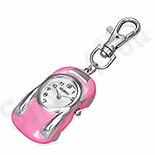 Breloc ceas masinuta roz - BF991
