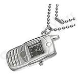 Pandantiv ceas tip mobil cu lantisor - BF1504