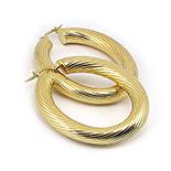 Cercei argint aurit - CF159