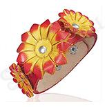 Bratara piele model floral - BF6108