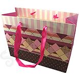 Punga cadou nuante roz si mov - BG6036