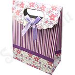 Punga cadou cu floricele - BG6033