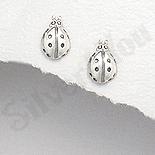 Cercei argint buburuza - AR194