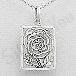 Pandantiv argint casetuta floare - AR202