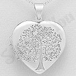 Pandantiv argint inima casetuta - AS127